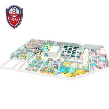 Amusement Park Kids Indoor Playground Equipment Image